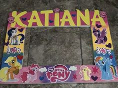 My Little Pony Photo Booth Frame Photo Booth Frame, Photo Booths, My Little Pony Party, Selfies, Borders And Frames, Fiestas, Selfie