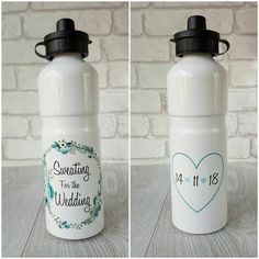 Does This Ring Make Me Look Engaged Water Bottle,Fiance Water Bottle,Sweating For The Wedding,Bride to Be Water Bottle Glitter Water Bottle