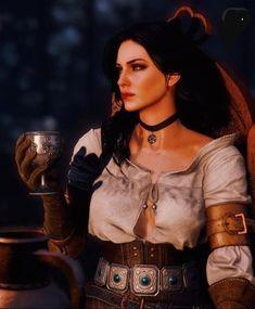The witcher yennefer Yennifer Witcher, Ciri, Witcher Wallpaper, The Withcer, The Last Wish, The Witcher Books, The Witcher Wild Hunt, Dark Spirit, Red Dead Redemption Ii