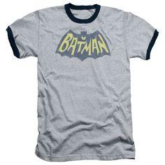 Batman: Show Bat Logo Ringer T-Shirt