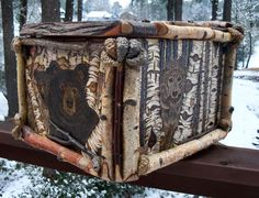 Custom Burnings Lodge Look, Pyrography, Logs, Objects, Crafts, Manualidades, Handmade Crafts, Craft, Arts And Crafts
