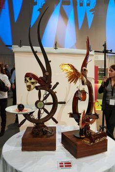 Coupe du Monde de Pâtisserie 2013 (Photo LeFotographe.com)    Denmark - Sculpture