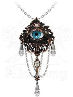 Natural Magic: The Lore Of The Forrest Alchemy Gothic Pendant