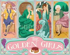 """Art Nouveau Style Poster, $50.00 