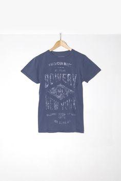 "Man t-shirt S|S ""Bowery New York"""