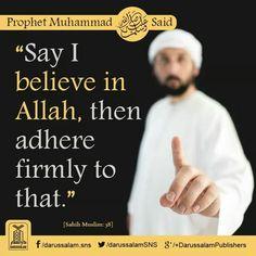 Be firm in ur faith n imaan. Trust Allah completely.