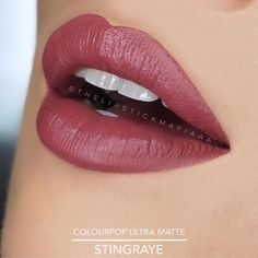 @colourpopcosmetics Ultra Matte Lip in STINGRAYE