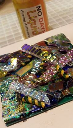 Calyx Glass Blog: How to Make Layered Dichroic Jewelry - Part 1