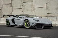 Aimgain Lamborghini Aventador on Savini Wheels.