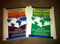 FREE OneYear Unit Study Curriculum- Teaching With God's Heart for the World