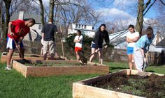 Woohoo...school gives PE credit for gardening! According to the New York Times, students at Princeton Public High School can, for physical-education credit, opt out of traditional gym class…and take gardening instead. I would have loved this. I've never had a real life need for the rules of volleyball, lol. Great idea...get your exercise and learn to feed yourself and beautify the world! Kids need more opportunities to connect with nature in this techno world, too.