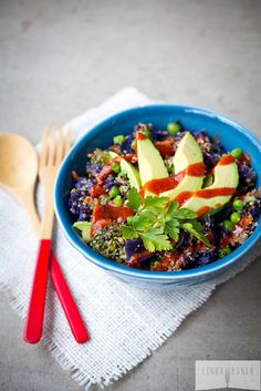 Spicy Rainbow Buddha BOwl | Community Post: 10 Delicious Lunch Bowls That Prove Healthy Eating Can Be Easy