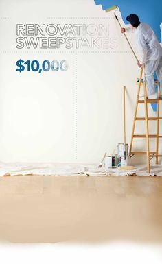 * Ends 7/31/17 - Enter for a chance to win $10,000 in the Athenes Renovation Sweepstakes from HGTV