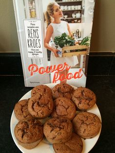 Oatmeal-banana muffins, #Rens #Kroes style
