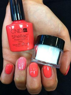 CND Shellac Wildfire   nails   Shellac, Shellac nails, Cnd ...