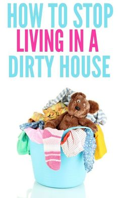 How To Keep Your House Clean All The Time - Organization Obsessed