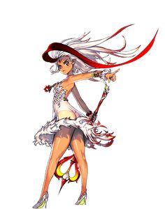 『デスティニーチャイルド』 Character Poses, Female Character Design, Game Character, Manga Characters, Female Characters, Hyung Tae Kim, Photography Basics, Destiny's Child, Female Anime