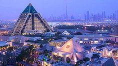 Modern pyramids in Dubai - Pyramid Hotel in Dubai #luxury #hotels #Dubai