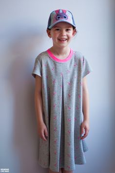 Sewing Like Mad: The Eleena Dress by Coffee + Thread.