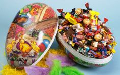 Easter Egg packed with mixed candy.