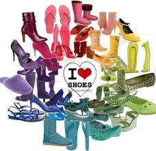 I love shoes and shoes and shoes! :D