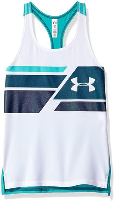 Under Armour Girls HeatGear Tank Under Armour Store, Under Armour Girls, Armor Clothing, Tank You, Running Shirts, Program Design, Perfect Fit, To My Daughter, Athletic Tank Tops