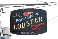 Best lobster roll in Maine!!! The hot butter option is the way to go, but don't feel bad piggin' out, you can enjoy the beautiful scenic ocean walk along the Marginal Way to walk off some of that butter! I love Ogunquit, see for yourself!