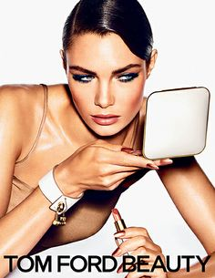 Sun-kissed skin with a hit of daring color. TOM FORD's new Summer Color Collection creates a sultry, hot-weather look.