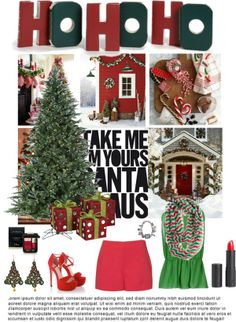 """""""Merry Christmas!"""" by flofloprincess on Polyvore"""
