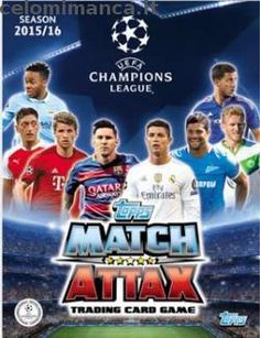 Copertina Match Attax UEFA Champions League 2015-2016