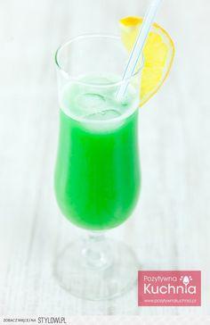 Zielona żabka - drink - przepis | Składniki: 40 ml wód… na Stylowi.pl