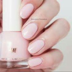 H&M rose chiffon