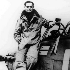 Douglas Bader. Fighter pilot who did not let the amputation of both legs stop him from combat operations for the RAF in WW2.