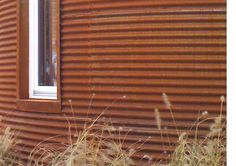 corten corrugated - I have a price and supplier for this material. Roof Cladding, Larch Cladding, Exterior Wall Cladding, Steel Cladding, Concrete Siding, Metal Siding, Steel Fence, Corten Steel, Corrigated Metal