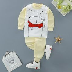 Girls' Clothing (newborn-5t) Baby Girl Sz 18m First Impression Outfit Top Pants 2pc Nwt Carefully Selected Materials