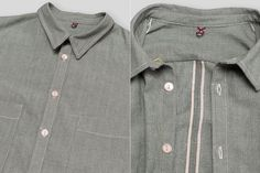 c4e6863d6b Masterson s HQMG Head Janitor Selvedge Chambray Shirt