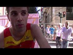 Miguel Ángel López, vencedor en los 20km de la Copa de Europa marcha Murcia2015.