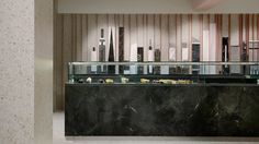 """The """"City That Never Sleeps"""" plays the starring role in the complete rebranding of the pastry chain, New York Sweets, by the team of Minas Kosmidis [Architecture in Concept] and is ideally exemplified in the renovation of the family company's flagship shop in Nicosia, Cyprus."""