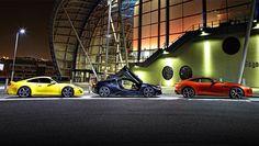 BMW i8 vs Jag F-Type vs Porsche 911 - BBC Top Gear