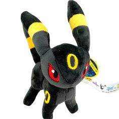 Features:Stuffed & Plush,Soft Item Type:Animals Gender:Unisex Type:Plush/Nano Doll Filling:PP Cotton Material:Plush Form:Genius Theme:TV & Movie Character Animals:Eevee Color: Purple, Gray NOTE: ON PR