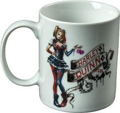 Gotham Tazza MUG Batman Arkham Knight Harley Queen