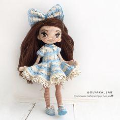 """1,758 Likes, 37 Comments - КУКОЛЬНАЯ ЛАБОРАТОРИЯ❤Оля_ка © (@olyaka_lab) on Instagram: """"Кукла Одри ( 3 фото) нарядилась Маленькая милейшая девочка с большим бантом на голове Рост…"""""""