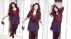 Here's some promotional photos of Selena Gomez from her photo shoot for her Dream Out Loud collection