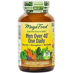 MegaFood  Men Over 40 One Daily Promotes Immune Health  Wellbeing 90 Tablets FFP ** You can find out more details at the link of the image.  This link participates in Amazon Service LLC Associates Program, a program designed to let participant earn advertising fees by advertising and linking to Amazon.com.