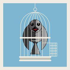 crow_223 #free to go #freedom #illustration