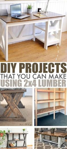 There& so much you can do in your home with just some simple lumber and a little creativity! Check out these DIY projects for inspiration! wood projects projects diy projects for beginners projects ideas projects plans Kids Woodworking Projects, Wood Projects For Beginners, Diy Furniture Projects, Diy Pallet Projects, Woodworking Furniture, Diy Woodworking, Furniture Plans, Diy Projects For Men, Woodworking Classes