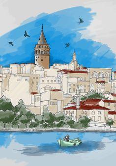 illustration by yeliz dilaver