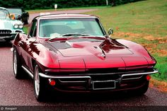 '65 Corvette...One thing I got from my mom and dad- a love for classics. Fast cars and jumping out of planes...That is what gets my motor runnin'...