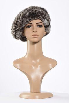 Πλεκτά με γούνα : Black-Grey Rex hat Fur, Sculpture, Statue, Knitting, Tricot, Breien, Sculptures, Stricken, Weaving