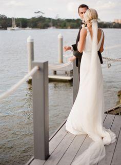 Noosa river wedding. #visitnoosa #noosa #noosawedding #riverwedding #river #wedding #love #romance